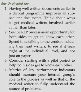 successfully outsourcing medical writing_box2