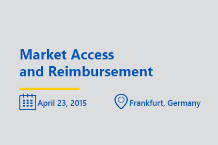 Market Access and reimbursement think tank Frankfurt 2015