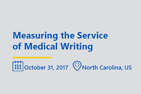 Measuring the service of medical writing think tank NC october 2017